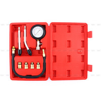 Gros-Multipurpose Engine Cylinder Compression Tester Kit Automobile manomètre pour Voitures Moto Garage Outil
