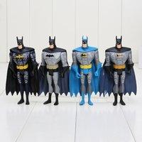 Wholesale Dc Unlimited - 12.5cm 4pcs set Superhero DC Universe JLU Justice League Unlimited Batman kids toys free shipping