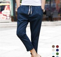 Wholesale Harem Dancing Pants For Men - Joggers Pants For Boys S5Q Track Sweat Pants Basketball Sport Jogging Pants Hip Hop Gym Jogger Dance Slacks Harem Baggy Sweat Pants