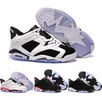 Wholesale J6 Retro - Wholesale Retro 6 Low Basketball Shoes Men 2016 Retro VI Boots High Quality Sneakers Cheap J6 Men's Sports Shoes Free Shipping 40-45