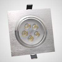 Yes case led ceiling - led downlights square recessed ceiling lamps W W V V home use spot lamp aluminum case