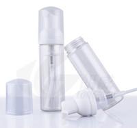 Wholesale Liquid Soap Bottles Wholesale - 60ml Foam Foaming Suds Pump Bottles Mousses Liquid Soap Transparent bubble packing bottle Refillable Portable travel