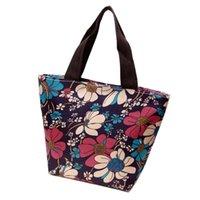 Wholesale Cheap Female Handbags - Wholesale-Fashionable Mini Women's Handbags Quality Nylon Cartoon Printing Casual Tote Bag Female Small Shopping Bag Wholesale Cheap