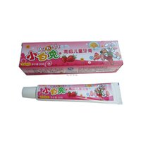 Wholesale Strawberry Flavor - Wholesale- 50g Strawberry Baby toothpaste Babycare Child toothpaste Fruit flavor toothpaste