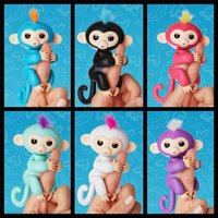 Electronic Smart Toys Electronic Smart Toys  Fingerlings Interactive Baby Monkeys Finger Toys Monkey Electronic Smart Touch Stress Release Fun Toys Finger Puppets Kids Christmas Gifts