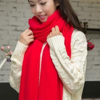 envo de la nueva de la manera bufanda hecha punto invierno de las mujeres bufanda