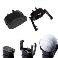Wholesale mini golf - Brand New Golf Ball Pickup Mini Golf Pick-up Grabber Back Saver Claw Put On Putter Grip Golf Ball Retriever Golf Training Aids Y0822