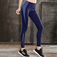 Wholesale nylon dance pants for sale - Group buy New Design Autumn Fashion Quick drying Female Leggings Fitness Training Yoga Pants Women Sports Running Dancing Gym Breathable Long Trousers