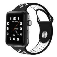 Wholesale watch camera metal for sale - 2018 Goophone Watch iwo Generation sport smart watch phone Bluetooth waterproof foreign clone phone metal frame phone holder