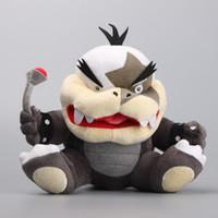 "Wholesale Koopa Stuffed Animal - Hot Sale 8"" 20cm Super Mario Koopalings Morton Koopa Plush Toys Stuffed Soft Toys Kids Gift"