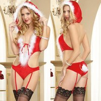 Wholesale Sex Lingerie Cosplay - Sexy Christmas Lingerie Exotic Porno Sex Products Sexy Costumes Cosplay Lingerie