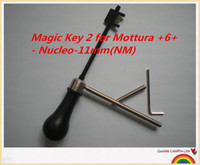 Wholesale Mm Key - New arrival Free shipping locksmith tools decoder Magic Key 2 for Mottura +6+ - Nucleo- 11 mm (NM)