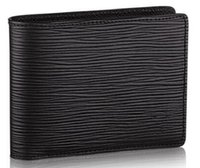 Wholesale Togo Bags - MULTIPLE WALLET M60662 WALLET Fashion Togo Epsom Leather designer clutch Genuine leather wallet with box dust bag 41593
