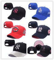 Wholesale Red Hats For Sale - Top Sale Special Price NY Letters Embroider Snapback Hats For Unisex Fashion Hiphop Outdoor Sprots Ball Caps Adjustable Festival Gift