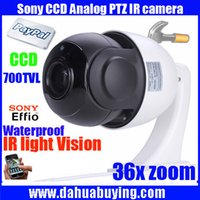 "Wholesale High Speed Digital Zoom Camera - CCTV MINI 4 Inch High speed PTZ IR 700TVL 1 3"" SONY CCD 36X Digital Zoom CCTV Waterproof Outdoor PTZ Security Camera"