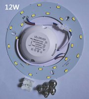 Wholesale Magnetic Promotion - PROMOTION 23W SMD 5730 Ceiling Circular Magnetic Light Lamp 85-265V AC220V Round Ring LED Panel board with Magnet
