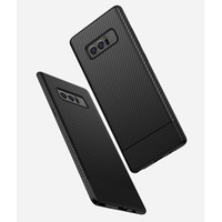 Wholesale Materials For Mobile - Fashion Shockproof Armor Case For Samsung Galaxy note 8 Carbon Fiber TPU Drawing Material Mobile Phone Cases Cover