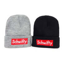 Wholesale Cool Winter Beanies - Schwifty Winter Knitted Hats Rick And Morty Classical Language Get Schwifty Very Cool Beanie Skiing knit Hats Warm Skullies
