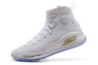 Wholesale Shoes Price Boy - hot sales curry 4 birthday Triple White Signature shoes wholesale price With Box Stephen Curry Basketball shoes free shipping