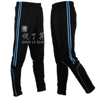Wholesale Western Style Pants - NEW 2016 Brand Outdoor Argentina Pants legs soccer training pants football western-style trousers legs sports pants