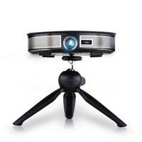 Wholesale android home theater for sale - Group buy D8S Mini Projector LED Full HD P Projector Android G G Portable Projector DLP Wifi Home Theater Pocket Held HDMI USB