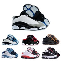 Drop Shipping 2016 de basket-ball en gros Chaussures Hommes Retro 13 Dan XIII Sneakers New Haute Qualité Sport Cheap Low Cut Outdoor Chaussures Taille 41-47