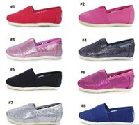 Wholesale wholesale floral fabric - Children Canvas Shoes Girls Boys Shoes Free Shipping 2017 Hot Sale EVA Flat Shoe Athletic Breathable Kids Glitter Sneaker Shoe