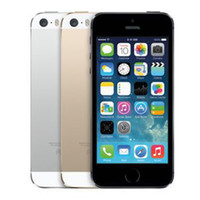 Wholesale I5s Unlock - iPhone 5S iPhone5S 4.0 inch Cellphone Original Refurbished Smart Phone i5S Dual Core 1G RAM 16GB ROM Unlocked Mobile Phones