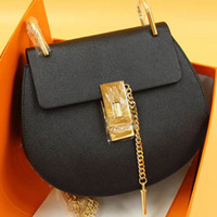 Women black cow cover - 2016 Hot women genuine leather chain handle bag lady real leather crossbody bag cow leather shoulder bag