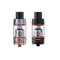 Wholesale Heat Capacity Steel - Original Smok TFV8 Atomizer 5.5ml capacity and 510 thread Improved Heating Air Tube stainless steel Top Refill System