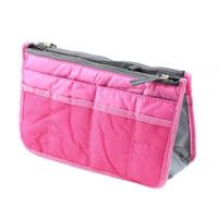 legen sie handtaschenorganisator ein großhandel-Frauen-Dame Organizer Organizer Travel Bag Purse Handtasche Insert Large Tidy Makeup 3 Farbe