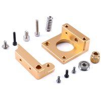 Wholesale Mk8 Extruder - 3D Printer Right-hand MK8 Extruder Aluminum Frame Block DIY Kit