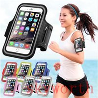 Wholesale Galaxy Note Sports Case - WaterProof Sport Gym Running Armband Case Pouch For iPhone 6 6S Plus 5.5 Samsung Galaxy S5 S6 S7 edge Note 4 5