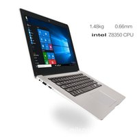 Wholesale Thin Computer China - 2017 Notebook 1 Windows10 Quad Core 32GB 14.1'' HD 1.33GHz Laptop Computer 10000mAh WIFI Bluetooth HDMI Light and thin christmas gift