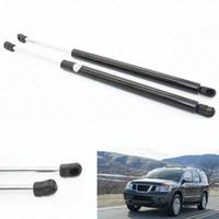 luftstreben großhandel-2 teile / satz auto Fronthaube Auto Gasfeder Struts Prop Lift Unterstützung Passend für 04-12 Nissan Titan 14260