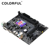 Wholesale Intel E Cpu - Colorful C.H81M plus V24A Motherboard Mainboard Systemboard for Intel H81 LGA1150 DDR3 SATA3 USB3.0 for Desktop CPUS Video card