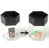 Wholesale Wholesale Kids Close - Trick Toys Big Explode Explosion Dice Close Up Magic Trick Joke Prank Toy Children Kids Gift Christmas YH111
