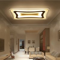 Wholesale Lamparas Techo Led - Ultra-thin Acrylic Living Room Bedroom Balcony Modern Led Ceiling Lights 85-265V Home Dec Ceiling Lamp Fixture lamparas de techo