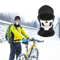 Wholesale Running Face Mask - 3D Skull Bike Mask Full Face Protective Sports Face Training Mask for Outdoor Running Riding Skateboard Ski Riding Balaclava