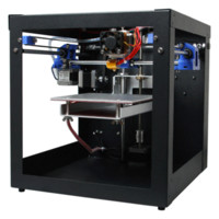 Wholesale Code Printer Machine - Geeetech Assembled Me Creator Mini Desktop 3D Printer machine for Professional With SD Card MK8 Extruder Shipped LCD2004 freely