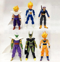 Wholesale Dragon Ball Z Mini Toys - Dragonball Z Dragon ball DBZ Mini Kids Toy Building Set Anime HOT X6
