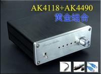 Wholesale 24bit 192k Dac - Freeshipping Breeze Audio The wind AK4490 SU4 decoder DAC coaxial optical fiber 192K 24BIT USB package