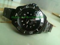Wholesale Sea Dweller 52mm - LUXURY WATCH Factory Supplier Black dweller Sea-dweller Ceramic 116600 52mm Sapphire Glass automatic Mens Men's Watch Watches