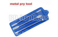 Wholesale Iphone Three Piece - 3 in 1 Three-piece Metal Pry Tool Crowbar Open Housing Tools Bar for iPhone iPad Tablet PC Phone LCD Screen Repair 50sets