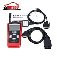 Wholesale Top Rated Auto Scan Tool - Wholesale-2016 Top-Rated Lowest Price Auto Scanner CAN VW AUD1 Scan Tool VAG 405, Autel Code Reader MaxScan VAG405 Free Shipping