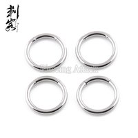 Wholesale Nose Ring Segment - Free Shipping 16G Surgical Steel Segment Ring Steel Captive Ring Body Piercing Jewelry Lot of 20pcs