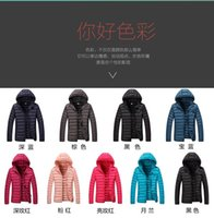 Wholesale Down Jackets Women Hoodies - free shipping 2016-17 new arrival winter clothes down jacket baseball coat AD &NK cotton jackets naike hoodies down coat for man and woman