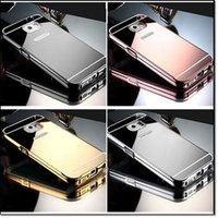 Wholesale Electroplated Chrome Iphone Case - Cheap price TPU mirror case For iphone8 iphone7 Mirror case Electroplating Chrome Ultrathin Soft TPU Phone Case back Cover for iphone 6 6s
