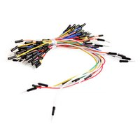 Wholesale Solderless Breadboard Jumper Cable Wires - Wholesale-65pcs Jump Wire Cable New Solderless Flexible Breadboard Jumper Cables Bread board jumper line 65P Dupont line free shipping