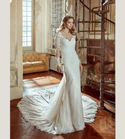 Haute Couture Full Sleeves Spitze Slim A-line Hochzeit DressBoat Neck Illusion V-Ausschnitt Royal Train Braut 2017 NIAB17123 Nicole Spose